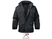Rothco Nylon M-65 Storm Jacket in Black