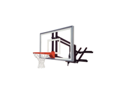 """First Team RoofMaster Nitro Roof and Basketball Hoop with 60"""" Glass Backboard"""