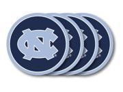North Carolina Tar Heels Coaster Set - 4 Pack