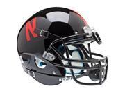 Nebraska Huskers Schutt Authentic Full Size Helmet - Black Alternate