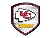 Kansas City Chiefs Shield Style Reflector