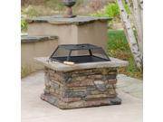 Christopher Knight Home Corporal Square Fire Pit