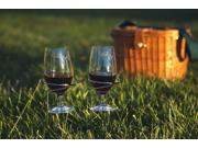 Pack of 8 Stainless Steel Outdoor Wire Wine Glass Holders - Stake into Ground