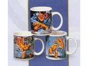 Set Of 12 Marvel Heroes 12 oz. Fantastic Four Mugs #38166