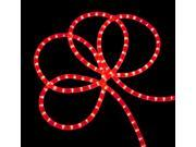 18' Festive Red Indoor/Outdoor Christmas Rope Lights
