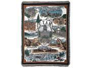 """""""State of Utah"""" Tapestry Throw Blanket 50"""" x 60"""""""