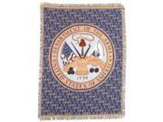 """Department of the Army Military Afghan Throw Tapestry - 50"""" x 70"""""""