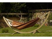 """155"""" Spruce Wood Free-Standing Olymp Curved Hammock Stand"""
