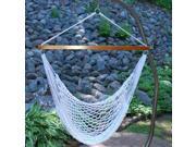 "48"" x 47"" Hanging Woven Nylon Net Hammock Chair"