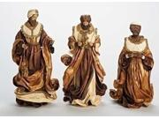 3 Have Faith Fabric Mache Religious Three Kings Christmas Nativity Figures