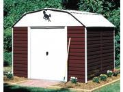 Garden Shed w Barn Door Siding (10 ft. x 8 ft.)