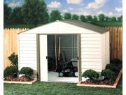 Steel & Vinyl Siding Garden Storage Shed (10 ft. x 8 ft.)