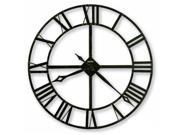 Lacy II Wrought Iron Wall Clock
