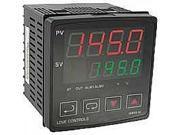 4C-3 1/4 DIN temperature controller, relay output.