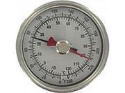 "BTM3604D Maximum/minimum bimetal thermometer, range -40 to 160DegF, 6"" stem."
