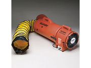 Allegro 9536-25 Plastic COM-PAX-IAL Blower DC w/25' Ducting & Canister Assembly