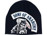 Sons of Anarchy Navy Grim Reaper Beanie
