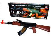 Kids Toy B/o Ak47 Machine Gun Ak47, toy guns for kids, toy gun, firing sounds, lights, bullets moving, cool toy gun good quality