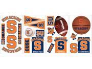 Syracuse University Peel & Stick Wall Decals