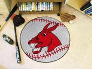 """27"""" diameter University of Central Missouri Baseball Mat"""