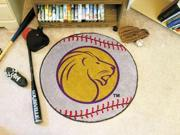 "27"" diameter University of North Alabama Baseball Mat"