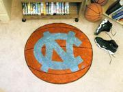 "27"" diameter UNC University of North Carolina - Chapel Hill Basketball Mat"