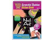 Melissa and Doug 5850 Scratchin Fashion Nail Art Activity Book - 3491