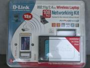 D-Link 802.11/2.4GHz Wireless Laptop Networking Kit