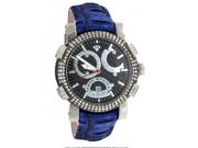 Aqua Master Titanium Glory Diamond Watch Blue Strap
