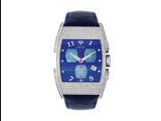 Aqua Master Men's Bicycle Diamond Watch, 3.65 ctw