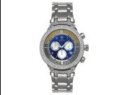 Aqua Master Men's Power Canary Diamond Watch with Diamond Bezel, 4.25 ctw