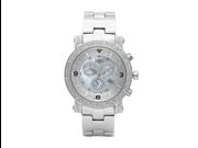 Aqua Master Men's Diamond Power Watch with Two Row Diamond Bezel, 3.50 ctw