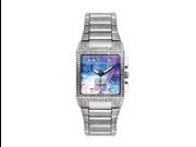 Aqua Master Men's Square Diamond Watch, 1.50 ctw