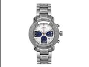 Aqua Master Men's 96 Model Diamond Watch with Stainless Steel Bracelet