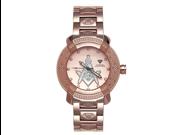 Aqua Master Men's 96 Model Diamond Watch with Masonic Symbol Dial