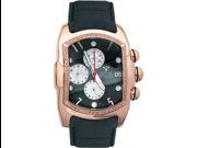 Aqua Master Men's Medium Rectangular Bubble Loop Diamond Watch, 0.40 ctw