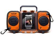 Grace Digital GDI-AQ2SI60 ECOXGEAR Rugged and Waterproof Stereo Boombox