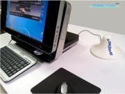 OmniAnt™ Desktop Wide-Band Personal 3G + 4G Antenna for Three E122 Portable and Multi-Use