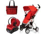 Quinny CV080RLRTRV  Zapp Xtra Travel system with diaper bag and car seat - Rebel Red