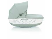 Inglesina AB06E0BTLUS Classica Bassinet with Diaper Bag Betulla - Light Grey White