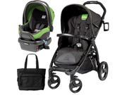 Peg Perego - Book Stroller Travel System with a Diaper Bag - Nero Energy  Mentha