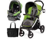 Peg Perego - Book Stroller Travel System with a Diaper Bag - Mentha