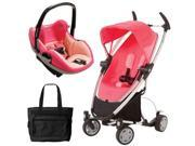 Quinny CV217BYP Zapp Xtra Travel system with diaper bag and Prezi car seat - Pink Precious