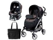 Peg Perego Switch Four Travel System with a Diaper Bag - Newmoon