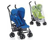 Inglesina - Swift Stroller with Rain Cover - Nautica Light Blue