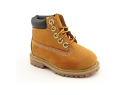 Timberland 6' Premium Waterproof Youth Boys Size 1 Beige Casual Boots
