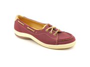 Keds Rapture Womens Size 6 Burgundy Moc Nubuck Leather Loafers Shoes UK 3.5