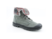 Palladium Baggy Mens Size 11.5 Gray Textile Casual Boots
