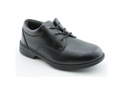 Stride Rite Jefferson Youth Boys Size 4 Black Leather Oxfords Shoes