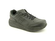 New Balance WW928 Womens Size 8 Black Leather Walking Shoes UK 6 EU 39